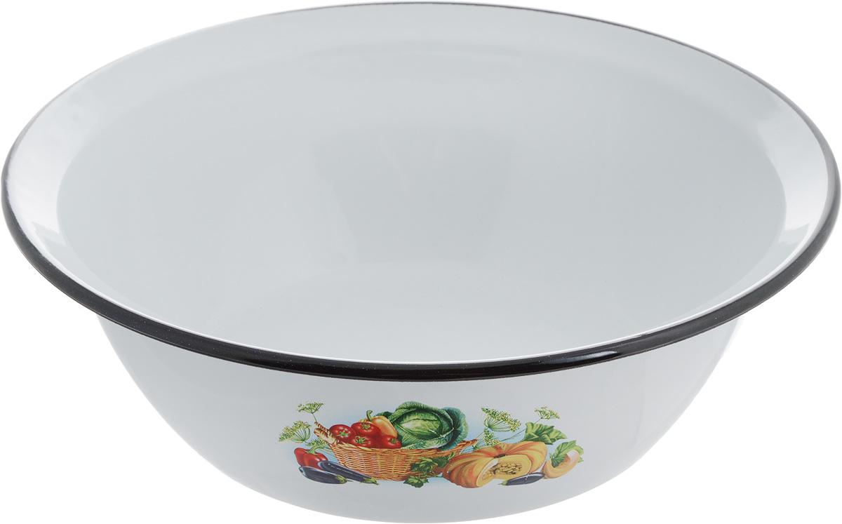 Миска СтальЭмаль Овощи, 3,5 л1с9с_овощи, корзинаМиска СтальЭмаль Овощи изготовлена из стали, покрытой эмалью. Такое покрытие защищает сталь от коррозии, придает посуде гладкую стекловидную поверхность и надежно защищает от кислот и щелочей. Миска подойдет для перемешивания продуктов, приготовления салатов и маринования мяса. Кроме того, изделие отлично подходит для приготовления пищи на природе. За счет ее компактного размера и формы миску удобно хранить в шкафу с другими кухонными принадлежностями. Миска СтальЭмаль станет незаменимым аксессуаром на кухне любой хозяйки. Диаметр (по верхнему краю): 28 см. Высота стенки: 9 см.