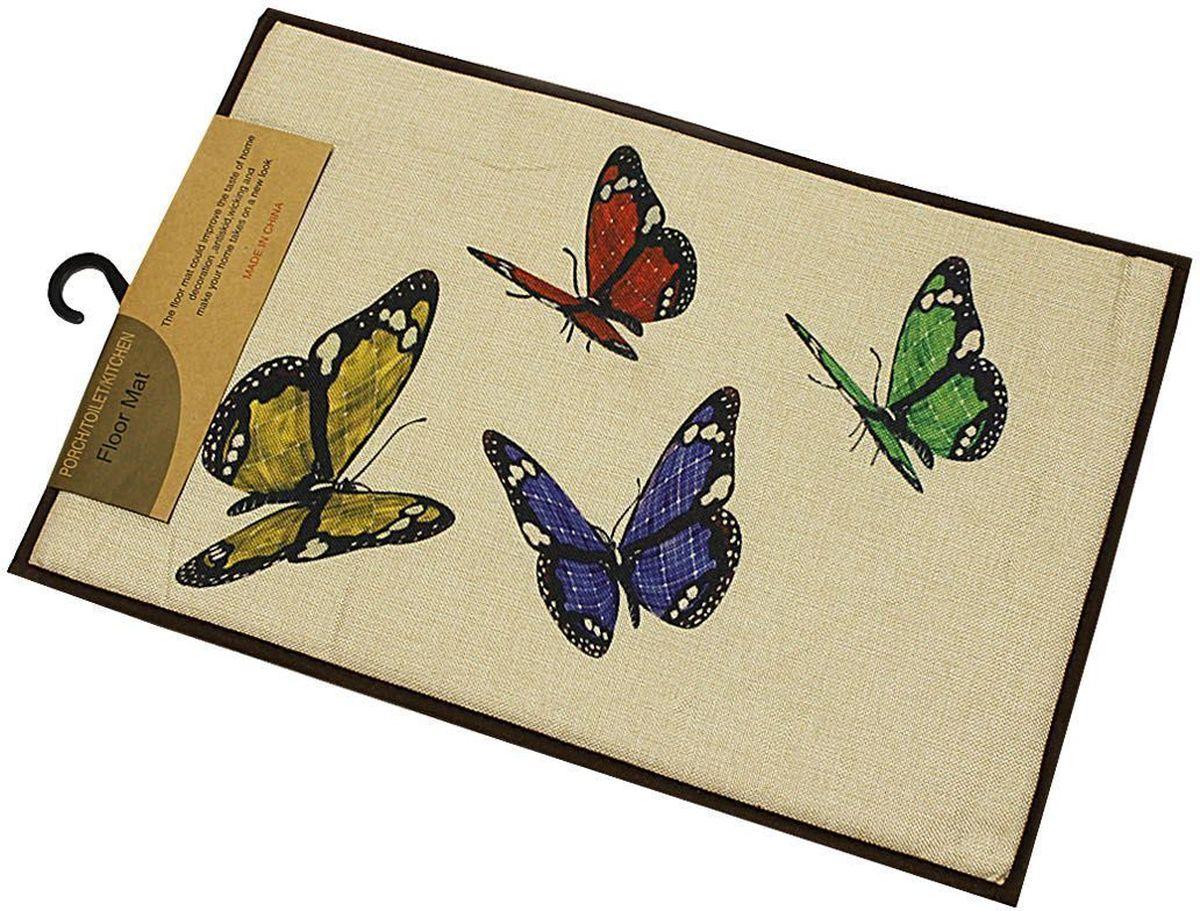 Коврик универсальный Patricia, 40 х 60 см. IM99-5014/бабочкиIM99-5014/бабочкиУниверсальный коврик выполнен из резины, он поможет защитить ваш дом от влаги и уличной грязи, к тому же, он легко очищается, его можно мыть.