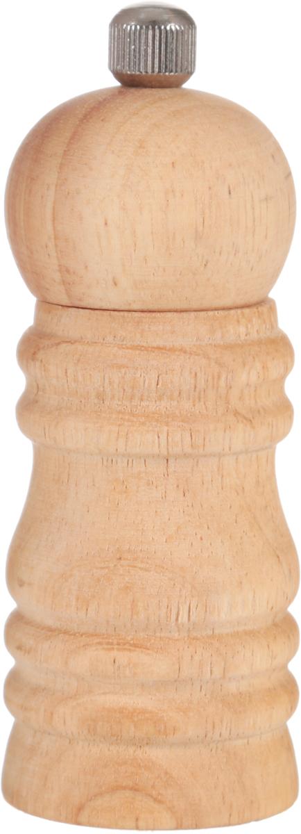 Мельница для перца Metaltex, высота 11,5 см58.60.10Мельница для перца Metaltex изготовлена из дерева и стали. Жернова в основании перцемолки изготовлены из керамики. Мельница легка в использовании, стоит только покрутить верхнюю часть мельницы, и вы с легкостью сможете поперчить по своему вкусу любое блюдо. Высота: 11,5 см. Диаметр основания: 4 см.