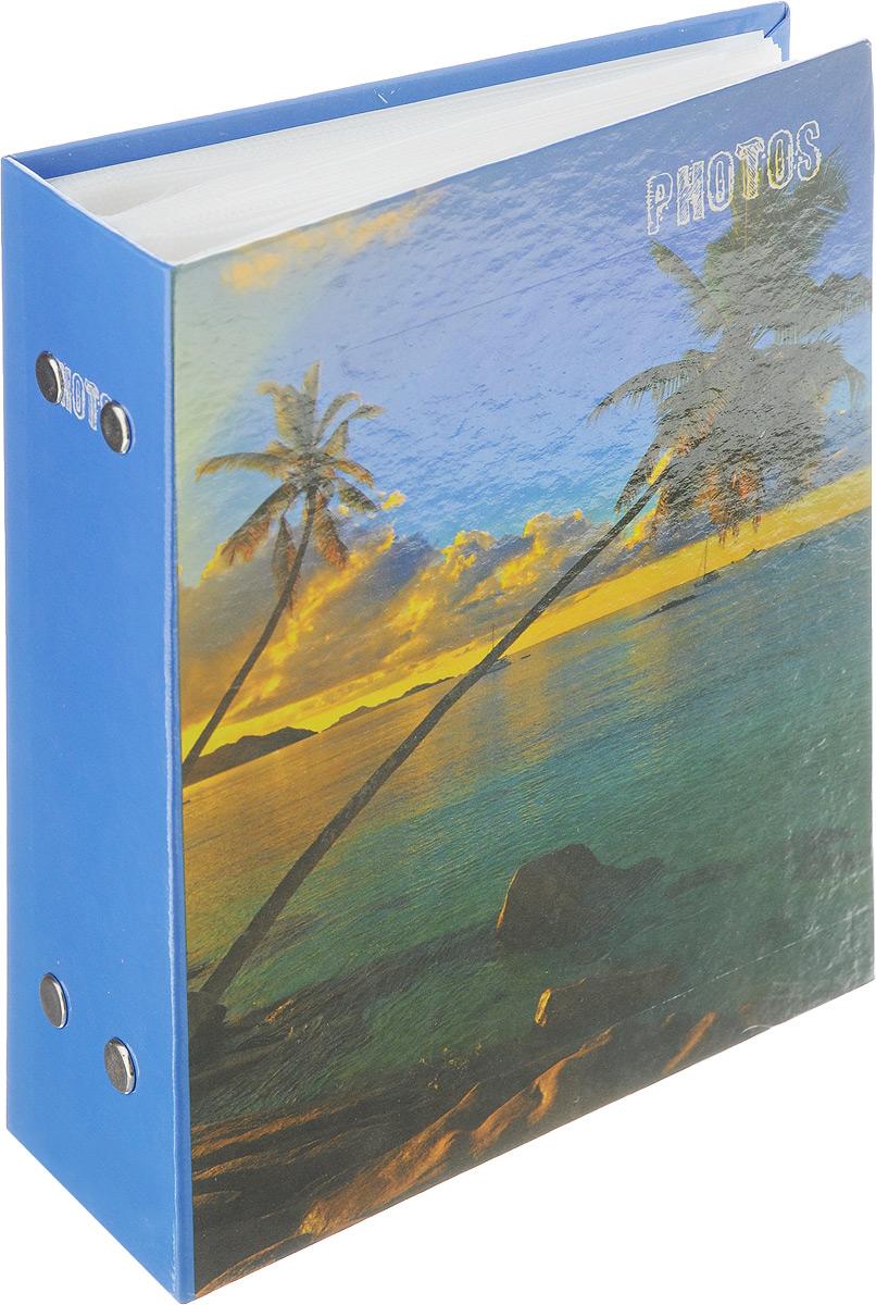 Фотоальбом Pioneer Deep Sea, 100 фотографий, цвет: синий, зеленый, 10 x 15 см46258 РР-46100Фотоальбом Pioneer Deep Sea поможет красиво оформить ваши самые интересные фотографии. Обложка из толстого ламинированного картона оформлена принтом. Фотоальбом рассчитан на 100 фотографий форматом 10 x 15 см. Внутри содержится блок из 50 листов с окошками из полипропилена. Такой необычный фотоальбом позволит легко заполнить страницы вашей истории, и с годами ничего не забудется. Тип обложки: ламинированный картон. Тип листов: полипропиленовые. Тип переплета: высокочастотная сварка. Кол-во фотографий: 100. Материалы, использованные в изготовлении альбома, обеспечивают высокое качество хранения ваших фотографий, поэтому фотографии не желтеют со временем.