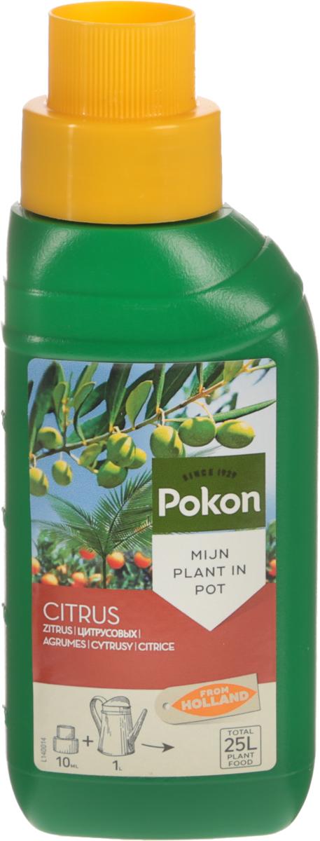 Удобрение Pokon, для цитрусовых растений, 250 млL140015Сбалансированное удобрение с высоким содержанием азота Pokon специально разработано для подкормки цитрусовых и других средиземноморских растений, выращиваемых в горшках. Оно способствует формированию красивых и полезных плодов. Состав: жидкое удобрение с соотношением NPK 10 + 3 + 7. Удобрение соответствует нормам ЕС. Товар сертифицирован.