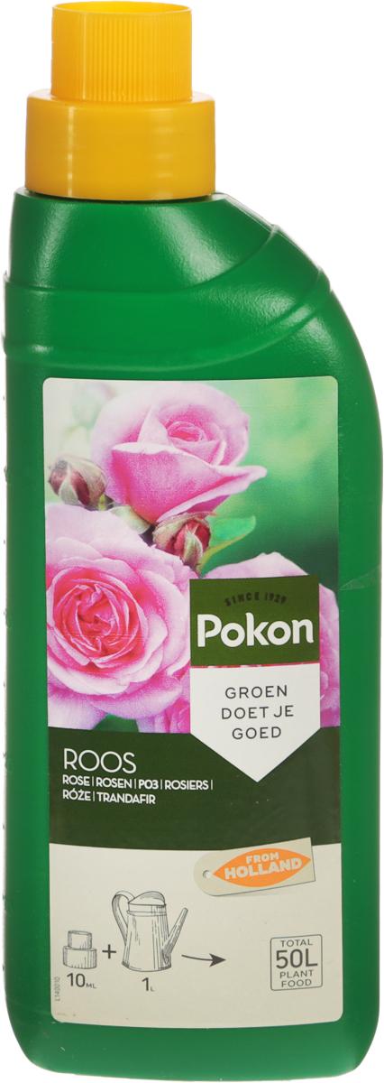 Удобрение Pokon, для роз, 500 млL140011Удобрение Pokon предназначено для роз. Чтобы розы часто цвели, им необходимо правильное питание. Сбалансированная смесь Pokon, специально составленная для розариев на террасах и балконах, способствует обильному и длительному цветению роз. Это удобрение специально разработано для роз и содержит раствор питательных веществ с соотношением NPK 8 + 5 + 5 и с добавкой других микроэлементов. Удобрение соответствует нормам ЕС. Товар сертифицирован.