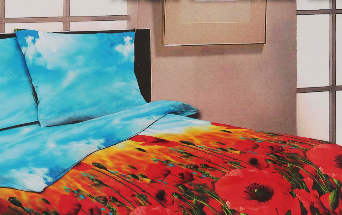 Комплект белья Amore Mio Flame, евро, наволочки 70x70, цвет: красный, голубой, зеленый83070Комплект постельного белья Amore Mio Paris является экологически безопасным для всей семьи, так как выполнен из бязи (100% хлопок). Комплект состоит из пододеяльника, простыни и двух наволочек. Постельное белье оформлено оригинальным рисунком. Легкая, плотная, мягкая ткань отлично стирается, гладится, быстро сохнет. Рекомендации по уходу: Химчистка и отбеливание запрещены. Рекомендуется стирка в прохладной воде при температуре не выше 30°C.