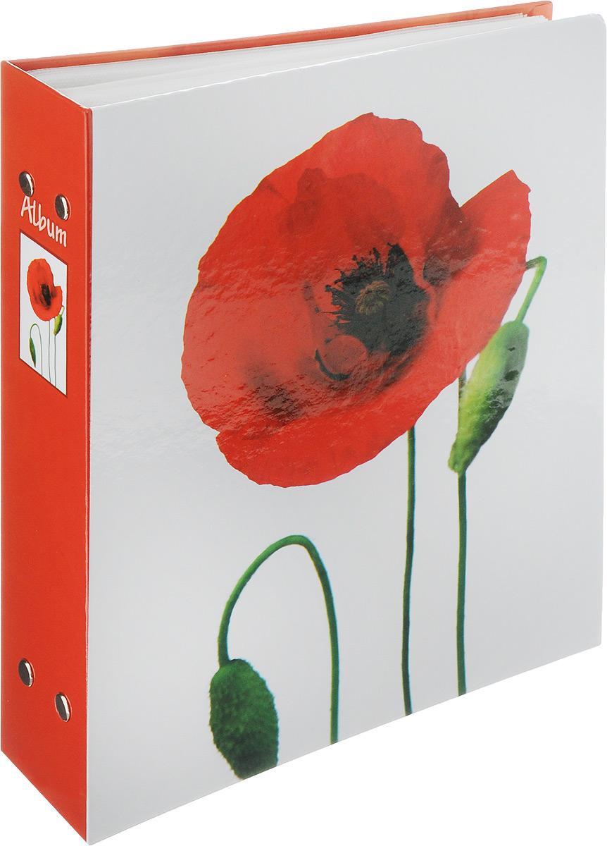 Фотоальбом Pioneer Lancome, 200 фотографий, цвет: красный, 10 x 15 см46364 РР-46200Фотоальбом Pioneer Lancome поможет красиво оформить ваши самые интересные фотографии. Обложка из толстого ламинированного картона оформлена принтом с маком. Фотоальбом рассчитан на 200 фотографий форматом 10 x 15 см. Внутри содержится блок из 50 листов с окошками из полипропилена, одна страница оформлена двумя окошками для фотографий. Такой необычный фотоальбом позволит легко заполнить страницы вашей истории, и с годами ничего не забудется. Тип обложки: картон. Тип листов: полипропиленовые. Тип переплета: высокочастотная сварка. Материалы, использованные в изготовлении альбома, обеспечивают высокое качество хранения ваших фотографий, поэтому фотографии не желтеют со временем.