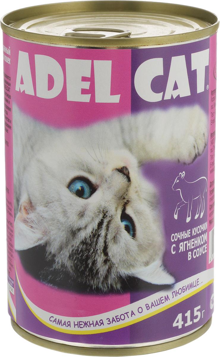 Консервы Adel-Cat, для кошек, с ягненком в соусе, 415 г990304Корм консервированный Adel-Cat является сбалансированным и полнорационным питанием для кошек. Корм Adel-Cat обеспечит организм ваших питомцев всеми необходимыми витаминами и микроэлементами. Технология изготовления позволяет сохранить все свойства натуральных продуктов, их качество и полезность, гарантирует поддержание здоровья и жизненных сил ваших любимцев. Товар сертифицирован.