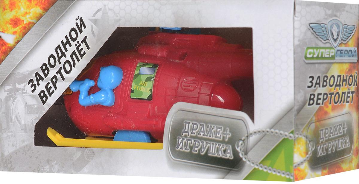 Конфитрейд Супергерой Вертолетики фруктовое драже с игрушкой, 5 гУТ19124В комплект входят вертолет с заводным механизмом (сзади находится веревочка) и драже со вкусом клубники. Игрушка рекомендуется для детей старше трех лет. Уважаемые клиенты! Обращаем ваше внимание на допустимые незначительные изменения в дизайне товара - некоторые детали могут отличаться по форме (цвету) от товара. Поставка осуществляется в зависимости от наличия на складе.