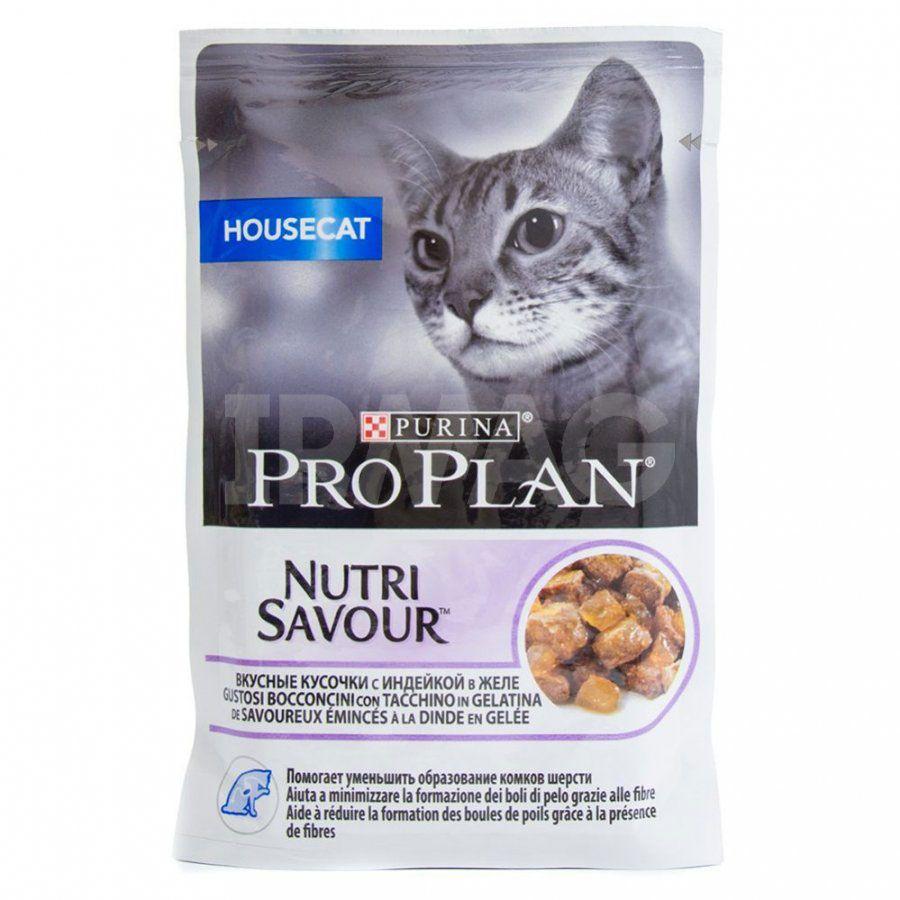 Консервы Pro Plan для кошек с избыточным весом и кошек, склонных к полноте, с индейкой, 24 х 85 г61787Корм PRO PLAN® содержит особую, разработанную с участием ученых комбинацию ингредиентов для поддержания здоровья котят в течение продолжительного времени. МЕ/кг: Витамин А: 1065, Витамин D3: 145. Мг/кг: Железо: 10,2, Йод: 0,39, Медь: 0,97, Марганец: 1,8, Цинк: 27,6, Селен: 0,023. С консервантами. Влажность: 80%, белок: 12%, жир: 3,5%, сырая зола: 2,2%, сырая клетчатка: 0,07%.