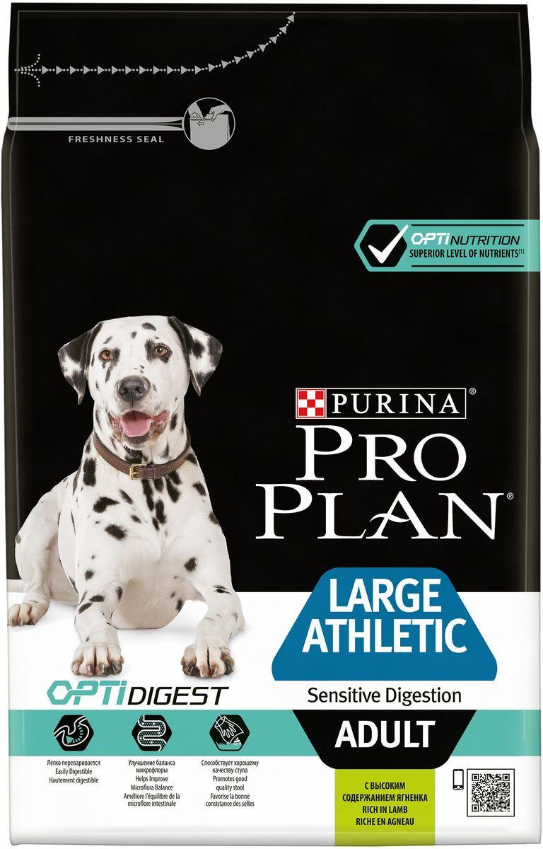 """Корм сухой Pro Plan """"Adult Large Athletic"""" для взрослых собак крупных пород с атлетическим телосложением, с комплексом Optihealth,"""