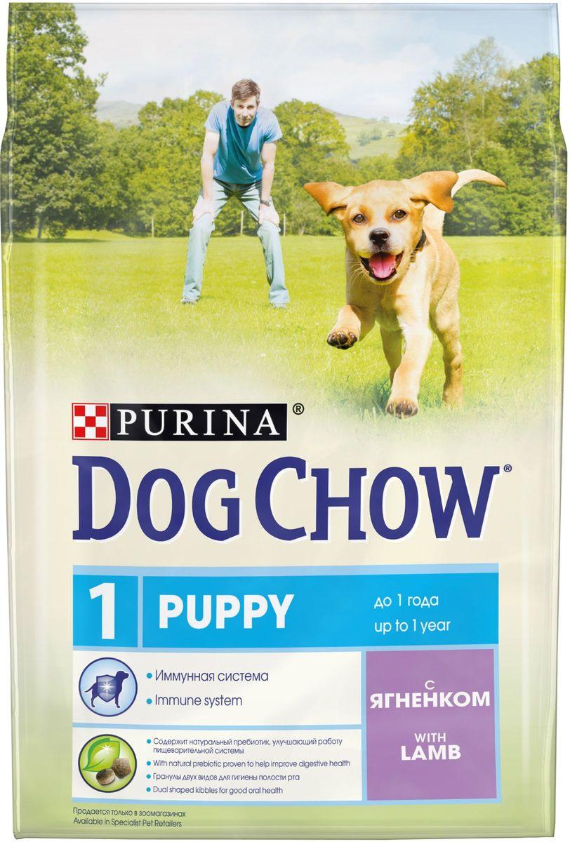 Корм сухой Dog Chow Puppy для щенков до 1 года, с ягненком, 2,5 кг62936Каждый день жизни щенка полон приключений, требующих больших затрат энергии. Корм PURINA® DOG CHOW® Puppy для щенков – это 100% сбалансированное питание, сочетающее мясо, важнейшие минеральные элементы и витамины, которые помогают щенку расти здоровым, сильным и готовым к новым испытаниям.Этот корм подходит также для взрослых собак мелких пород и собак в период беременности и вскармливания. МЕ/кг: витамин А: 22 600, витамин D3: 1 300, витамин Е: 105. Мг/кг: железо: 93,8; йод: 2,3; медь: 10,4; марганец: 7,1; цинк: 168,6; селен: 0,23. Белок: 28%, жир: 14%, сырая зола: 7,5%, сырая клетчатка: 2,5%, Докозагексаеновая кислота: 0,05%.