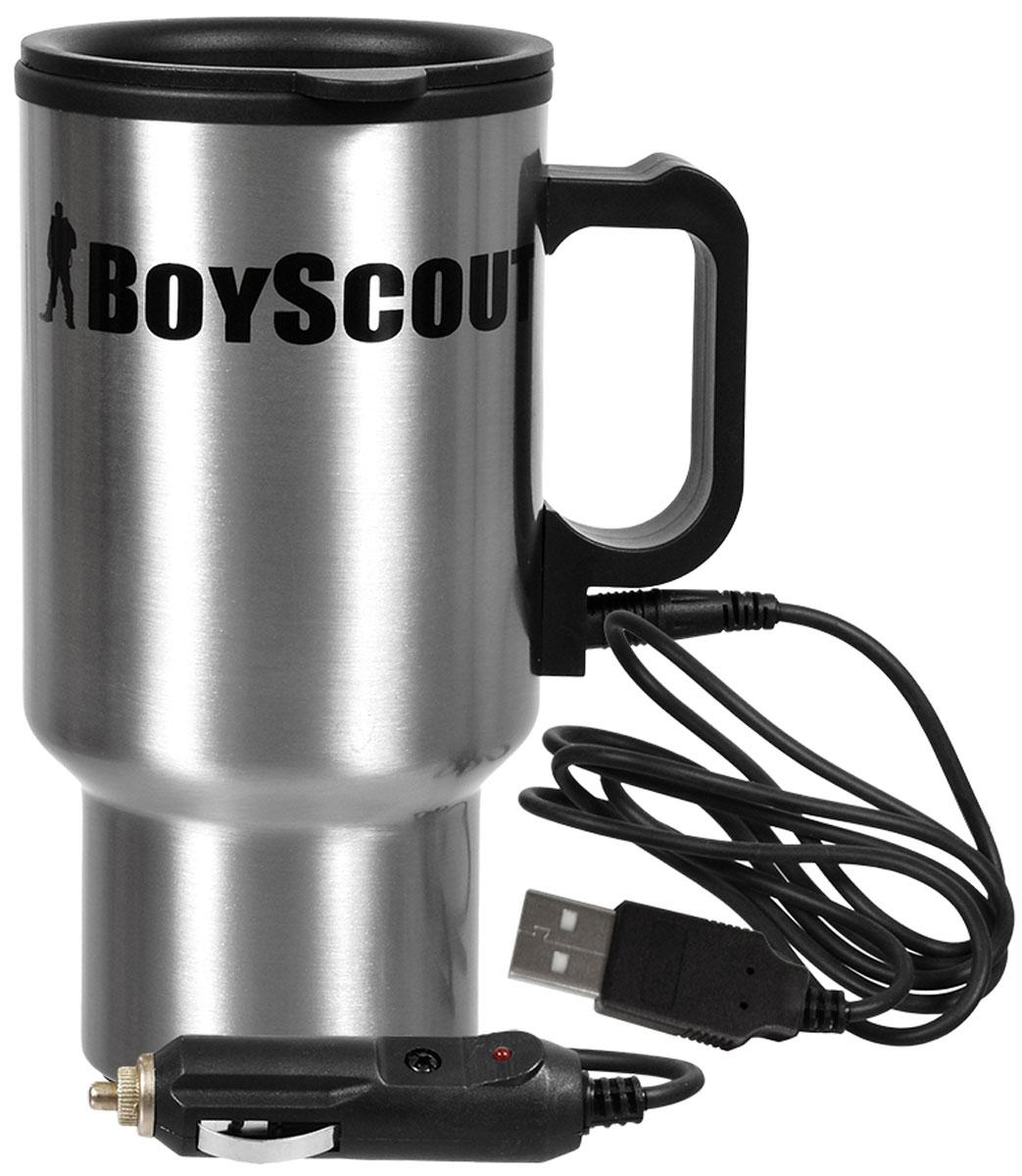 Термокружка Boyscout, автомобильная, 450 мл61049Кружка подключается к прикуривателю в автомобиле.