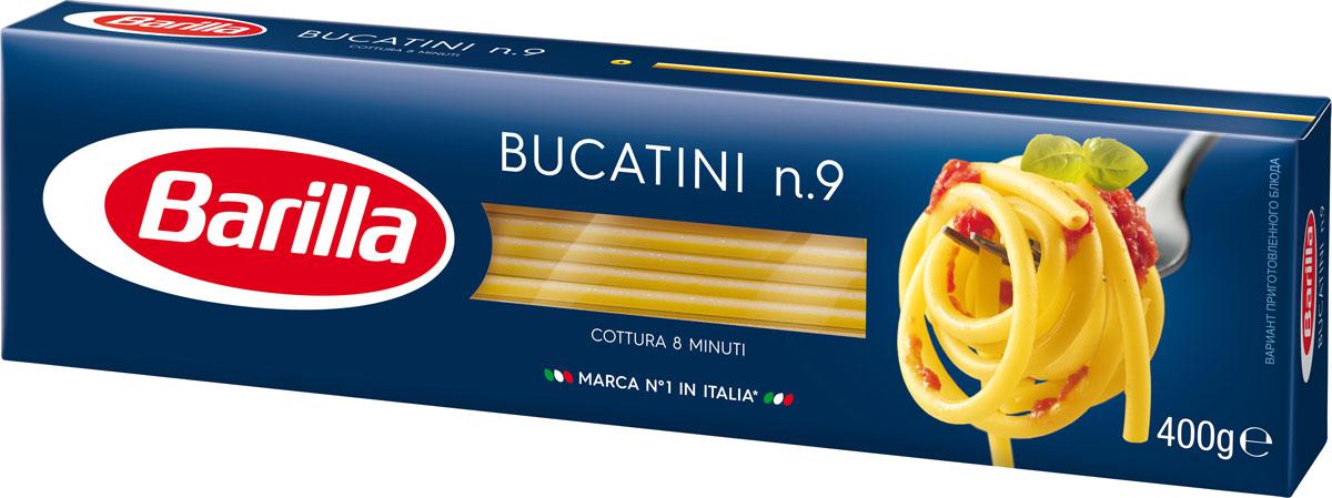 Barilla Bucatini паста букатини, 400 г8076809572064