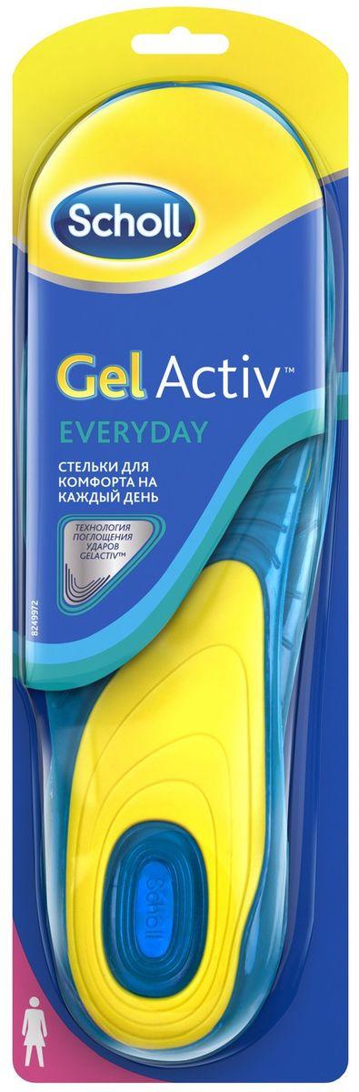 Scholl GelActiv Everyday Cтельки для комфорта на каждый день для женщин. Размер 37/41