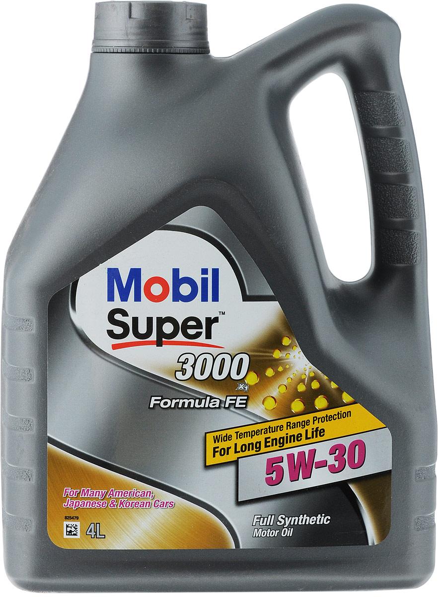Масло моторное Mobil Super 3000 X1 Formula FE, класс вязкости 5W-30, 4 л152564Моторное масло Mobil Super 3000 X1 Formula FE - высококачественное синтетическое энергосберегающее масло для современных бензиновых и дизельных двигателей легковых автомобилей Ford, которое рекомендуется в соответствии с допуском Ford WSS-M2C913-C и заменяет предыдущие допуски Ford WSS-M2C913А и Ford WSS-M2C913В. Масло Mobil Super 3000 X1 Formula FE было специально разработано для бензиновых и дизельных легковых автомобилей, легких грузовиков и микроавтобусов, требующих применения маловязких энергосберегающих масел. Масло соответствует допуску Ford WSS-M2C913-С, но может также применяться и в других автомобилях, для которых рекомендованы масла такого же уровня качества и класса вязкости. Моторное масло Mobil Super 3000 X1 Formula FE обеспечивает следующие преимущества: - повышенная топливная экономичность; - отличные низкотемпературные свойства обеспечивают легкий запуск двигателя, а также защиту двигателя от износа при низкой окружающей температуре; -...