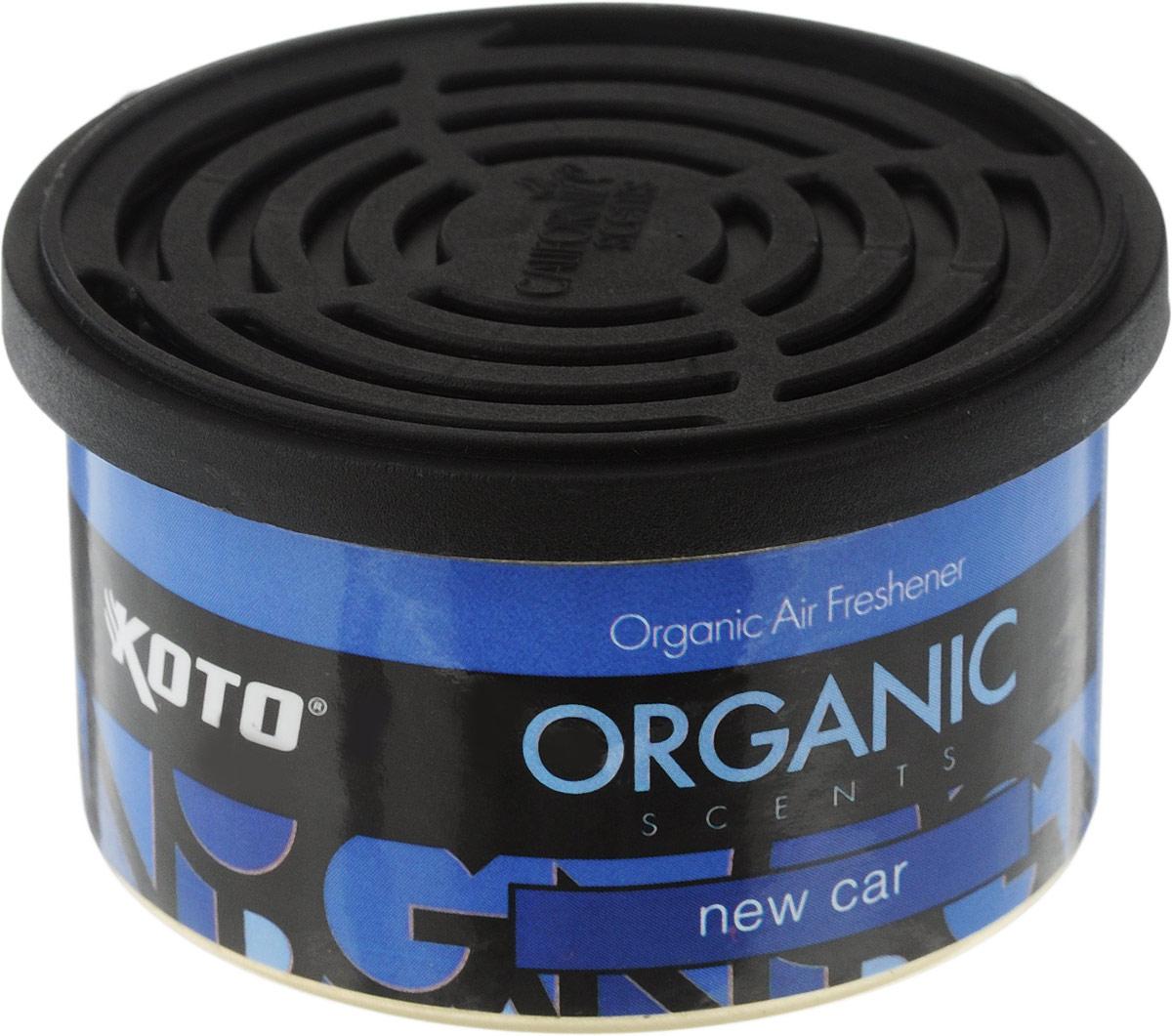 Ароматизатор автомобильный Koto Organic, новая машинаFPO-102Автомобильный ароматизатор Koto Organic эффективно устраняет неприятные запахи и придает приятный аромат новой машины. Внутри - органический наполнитель, который не растекается и не вредит окружающей среде. Ароматизатор имеет удобную крышку-регулятор, так что интенсивность аромата вы сможете настроить сами. Стойкий аромат держится около 60 дней. Ароматизатор может быть расположен как на приборной панели, так и под сиденьем автомобиля. Товар сертифицирован.
