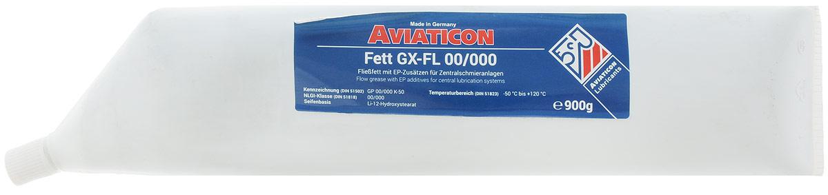 Смазка пластичная Finke Aviaticon. Fett GX-FL, NLGI-класс 00/000, 900 мл56055434Finke Aviaticon. Fett GX-FL - это полужидкая пластичная смазка, применяемая для смазывания централизованных систем смазки в автомобилях. За счет использования в составе загустителя разных катионов металлов обладает повышенными защитными свойствами. Обеспечивает оптимальные адгезионные свойства. Выдерживает высокие нагрузки. Водостойка. Гарантирует надежное смазывание деталей системы смазки. Температура эксплуатации: от -50°С до +120°С. Основа: Li-12-Hydroxystearat. Товар сертифицирован.