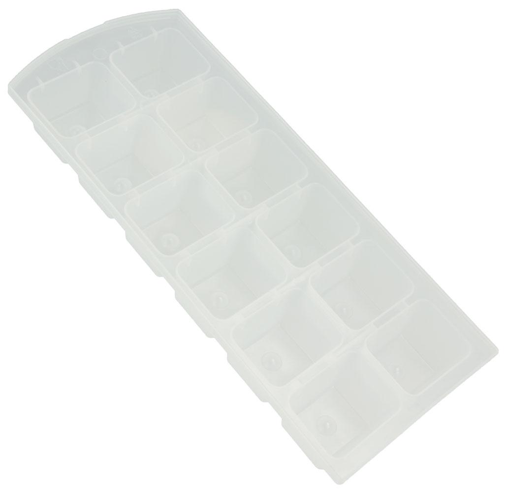 Набор форм для льда Metaltex, 2 шт25.35.17Гибкие формы для льда Metaltex выполнены из полупрозрачного гибкого пластика. На каждом листе расположены 12 прямоугольных формочек. Благодаря тому, что формочки изготовлены из гибкого пластика, готовый лед вынимать легко и просто. Чтобы достать льдинки, эту форму не нужно держать под теплой водой или использовать нож. Размер формы: 21 х 9 х 3 см. Размер ячейки: 3,7 х 3 х 2,5 см.
