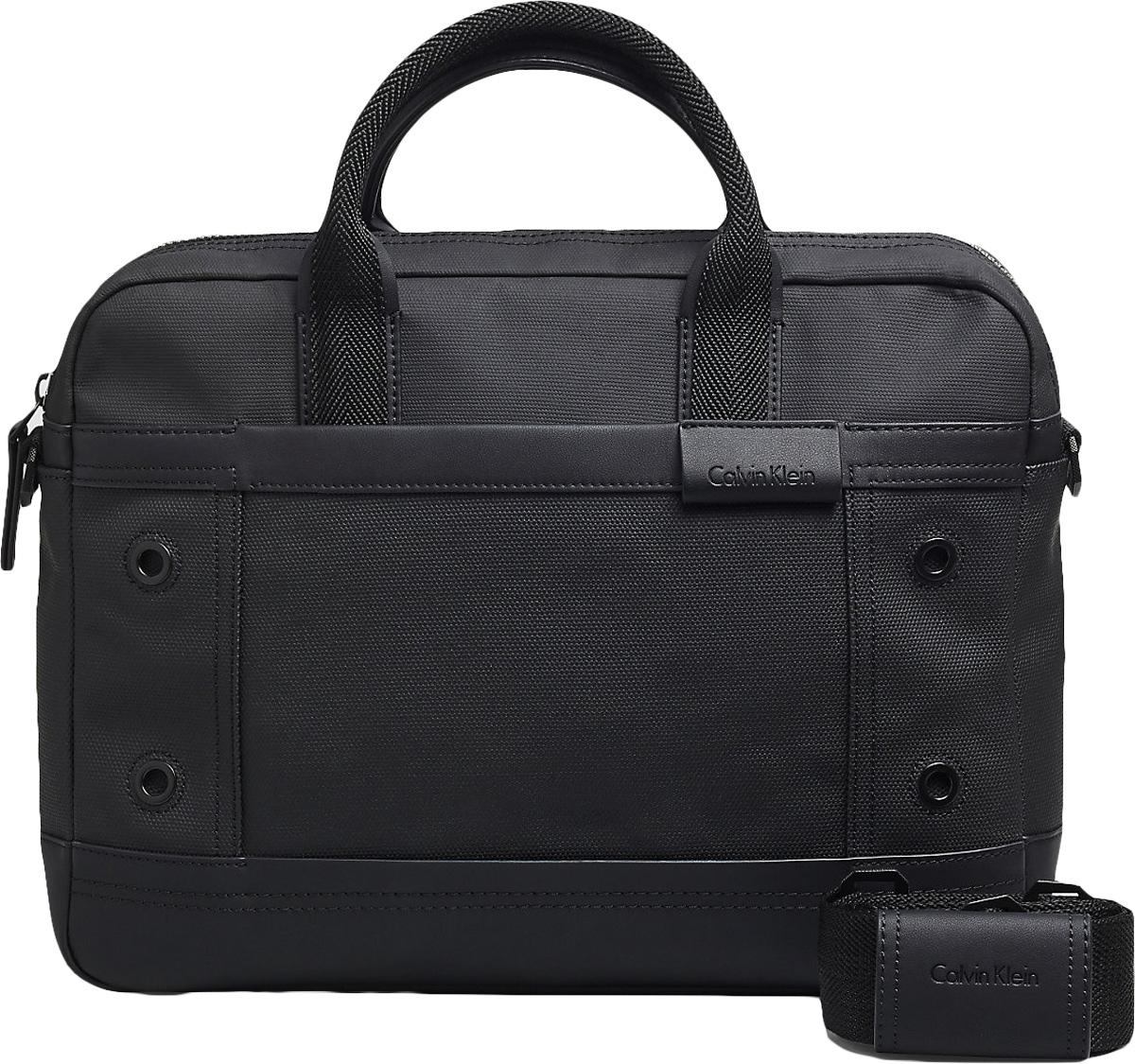 Сумка мужская Calvin Klein Jeans, цвет: черный. K50K502351_0010K50K502351_0010