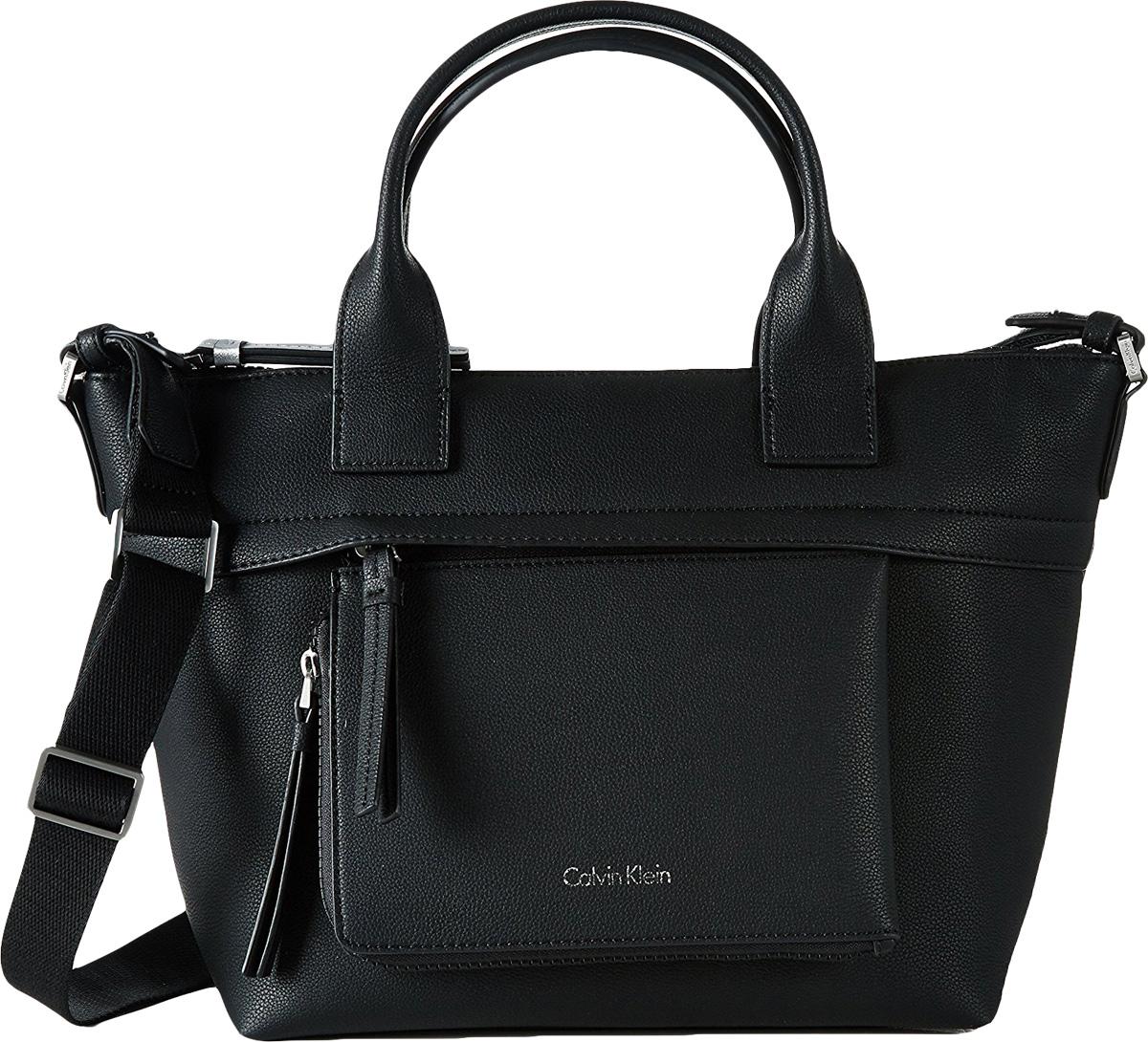 Сумка женская Calvin Klein Jeans, цвет: черный. K60K602705_0010K60K602705_0010