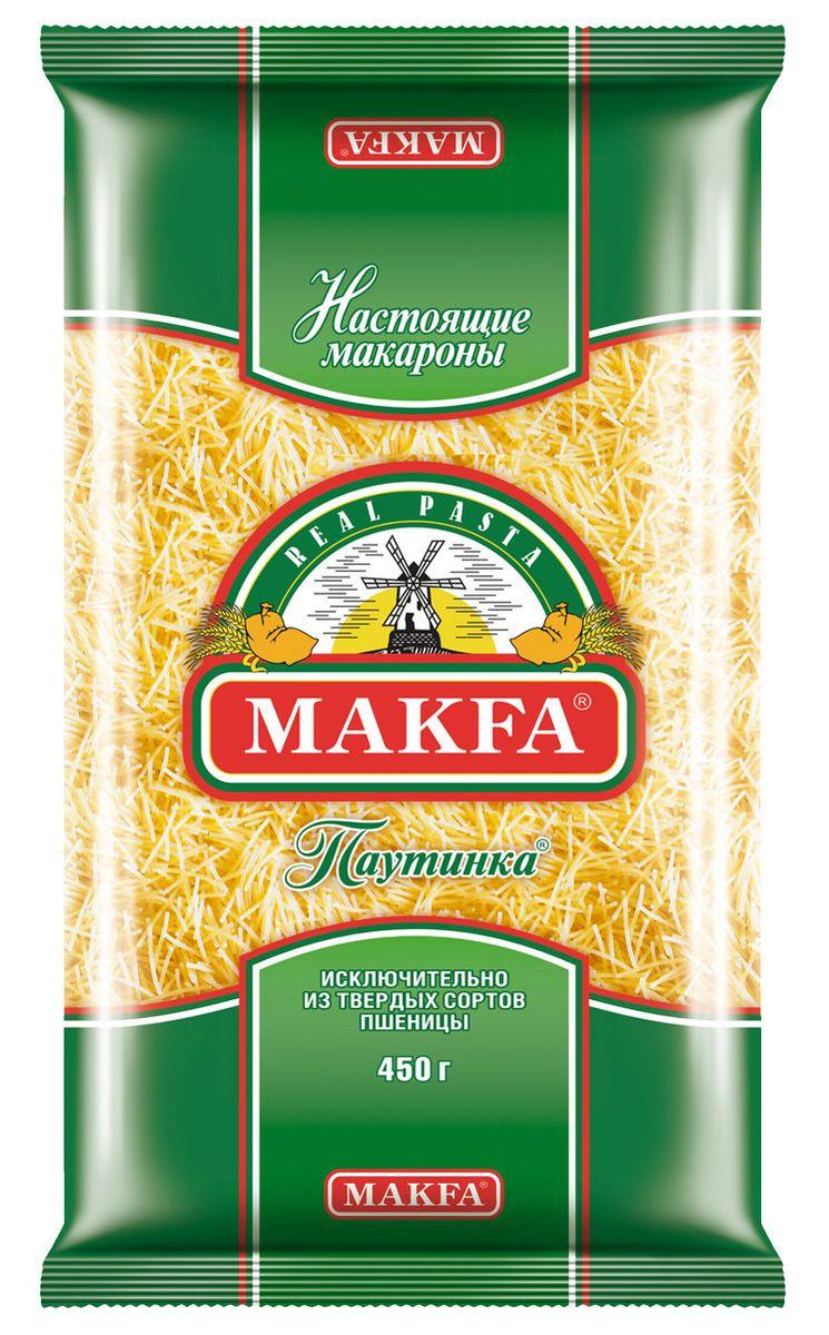 Makfa вермишель паутинка, 450 г