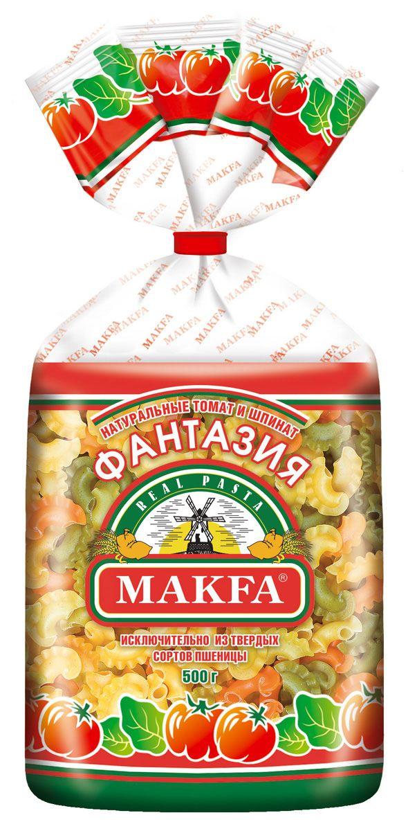 Makfa Фантазия петушиные гребешки, 500 г
