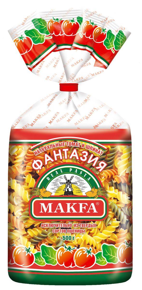 Makfa спирали фантазия, 500 г
