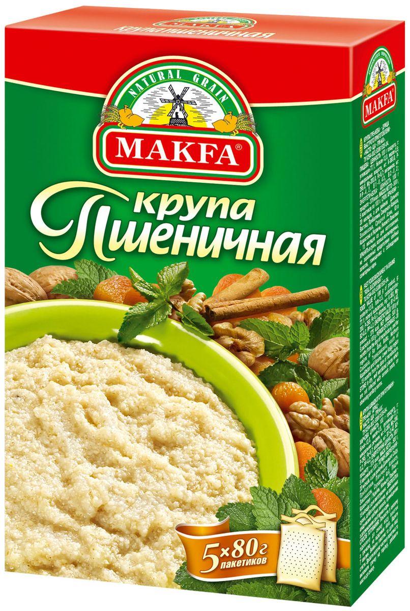 Makfa Полтавская №4 пшеничная крупа, 400 г105-4
