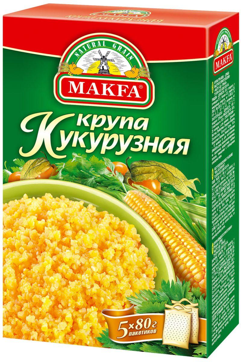 Makfa кукурузная крупа, 400 г