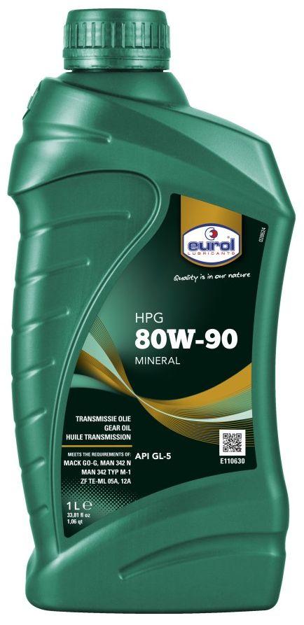 Масло трансмиссионное EUROL HPG SAE, класс вязкости 800W-90, GL5, 1 лE110630-1lEurol HPG Gear Oil - минеральное трансмиссионное масло, изготовленное по последней технологии фосфор/сера. Эта технология присадок обеспечивает отличную защиту при контакте металл-металл в передачах в тяжелых условиях эксплуатации, а также при ударных нагрузках. Eurol HPG Gear Oil содержит специальные присадки, обладающие свойством оставлять защитную пленку для защиты от коррозии. Кроме того, масла с вязкостью SAE 80W и 80W-140 обладают превосходной текучестью при низких температурах для оптимальной работы в любое время года. Eurol HPG Gear Oil показывает отличную термостойкость и стойкость и окислению. Прокладки не повреждаются. Eurol HPG Gear Oil рекомендуется для использования в гипоидных передачах, мостах, кпп и дифференциалах, где требуются спецификации API GL-5 , MIL-L 2105-D и Mack GO-G. Масло с вязкость SAE 85W-90 может также применяться для требования спецификации MB 235.0. Спецификации и одобрения 80W-90 / 85W-140/80W-140 •API GL-5 ...