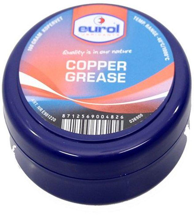 Смазка медная EUROL Copper Grease, 100 гE901220-100gВысокотемпературная медная смазка. Eurol Copper Grease lead-free состоит из модифицированной глины (неплавкий бентон) и высококачественных компонентов меди, графита и аллюминия, а также ингибиторов против коррозии и окисления. Eurol Copper Grease lead-free обеспечивает долговременную защиту от коррозии и вредных внешних химических реакций. Не вымывается (соленой) водой. Eurol Copper Grease lead-free рекомендуется для смазывания кранов, резьбовых соединений, манифолдов, клем аккумуляторов, гаек колес, печей и тормозов, для предотвращения изгибания и трения. Демонтаж уплотнений и раскрутка резьбовых соединений упрощены даже после длительного влияния высоких температур, коррозии и больших нагрузок. Eurol Copper Grease lead-free смягчает поверхности и предотвращает от контакта металл-металл при затягивании болтов. Смазанные части защищены от атмосферного влияния. Спецификации и одобрения: Eurol Copper Grease не содержит свинца Рабочая температура от...