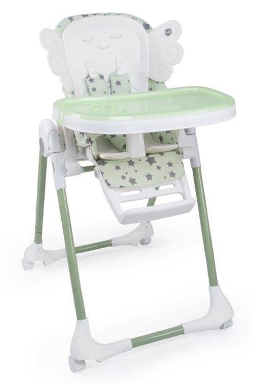Happy Baby Стульчик для кормления Wingy Green 4690624018626