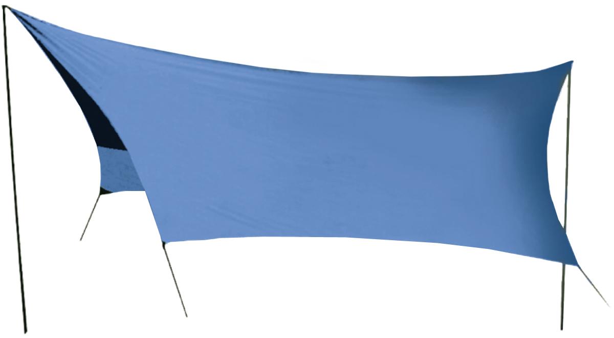 Тент Sol Tent blue, цвет: синий, 440х440 см. SLT-036.06SLT-036.06Размер: 440 х 440 см Полный вес: 2,1 кг - Удобный тент со стойками - Очень простая установка - Удобные большие размеры - Идеальна для отдыха на открытом воздухе в летнее время, спасает от легкой непогоды и солнца