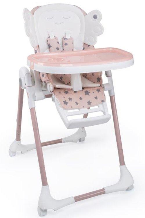 Happy Baby Стульчик для кормления Wingy Pink