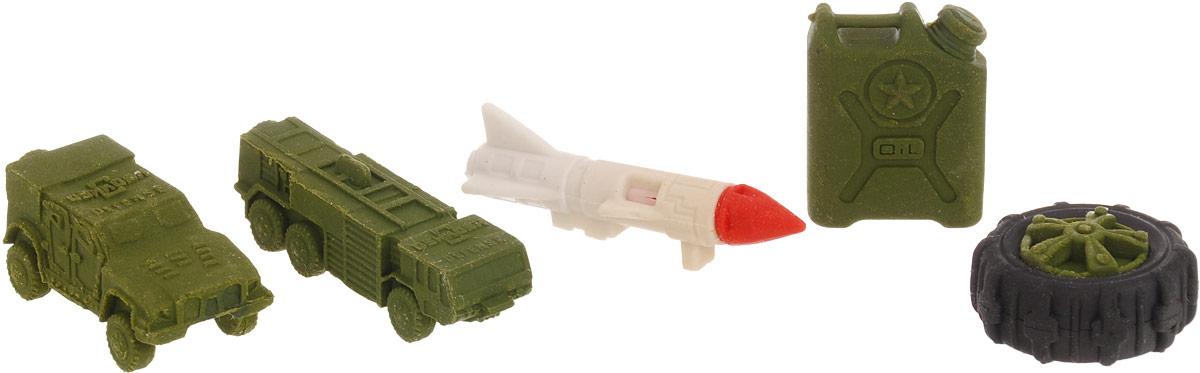 Бумбарам Набор ластиков-пазлов Военная техника 4 шт cl-8017/cl-8014