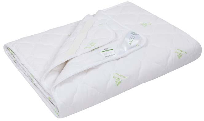 Наматрасник Ecotex Бамбук, наполнитель: бамбуковое волокно, цвет: белый, 200 х 200 смНБ20- экологически чистый природный материал; - высокие антибактериальные свойства; - не вызывает раздражения; - ощущение свежести: регулирует влажность и теплообмен; - долговечность: сохраняет свои первоначальные свойства и форму после многократной эксплуатации.