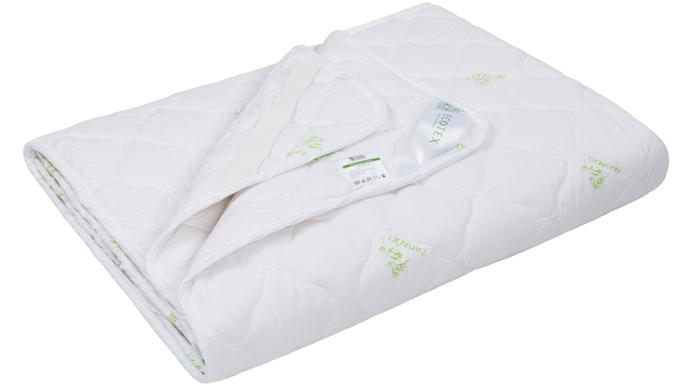 Наматрасник Ecotex Файбер-Комфорт, цвет: белый, 200 х 200 смНФК20- экологичность; - гигиеничность: не впитывает запахи и пыль; - теплоизоляция и воздухопроницаемость; - долговечность: в течение долгого времени сохраняет объем и упругость; - легкость в уходе: легко стирается, быстро сохнет.