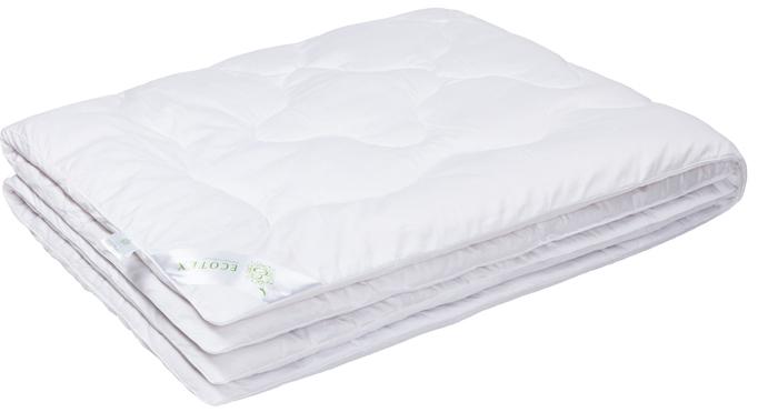Одеяло Ecotex Бамбук-Роял, наполнитель: бамбуковое волокно, цвет: белый, 140 х 205 смОБ1- экологически чистый природный материал; - высокие антибактериальные свойства; - не вызывает раздражения; - ощущение свежести: регулирует влажность и теплообмен; - долговечность: сохраняет свои первоначальные свойства и форму после многократной эксплуатации.