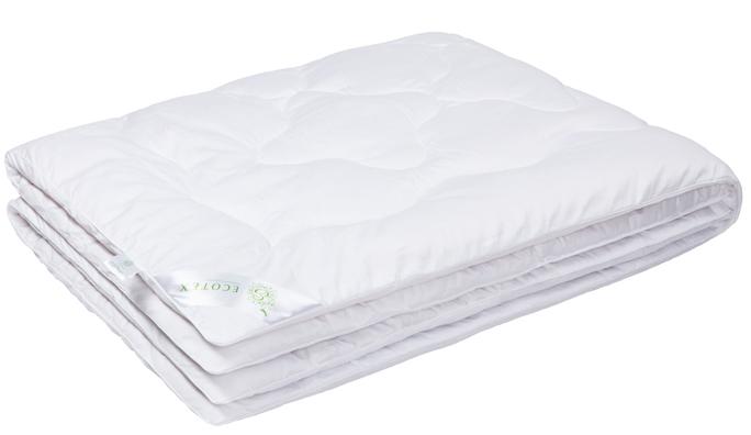 Одеяло Ecotex Бамбук-Роял, наполнитель: бамбуковое волокно, цвет: белый, 172 х 205 смОБ2- экологически чистый природный материал; - высокие антибактериальные свойства; - не вызывает раздражения; - ощущение свежести: регулирует влажность и теплообмен; - долговечность: сохраняет свои первоначальные свойства и форму после многократной эксплуатации.