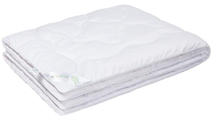Одеяло Ecotex Бамбук-Роял, наполнитель: бамбуковое волокно, цвет: белый, 200 х 220 смОБЕ- экологически чистый природный материал; - высокие антибактериальные свойства; - не вызывает раздражения; - ощущение свежести: регулирует влажность и теплообмен; - долговечность: сохраняет свои первоначальные свойства и форму после многократной эксплуатации.