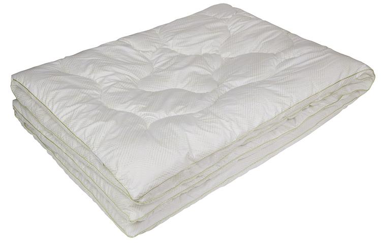Одеяло Ecotex Бамбук-Комфорт, наполнитель: бамбуковое волокно, цвет: белый, 172 х 205 смОБК2- антистатические свойства; - не вызывает раздражения; - регулирует влажность и теплообмен; - сохраняет свои первоначальные свойства и форму после многократной эксплуатации; - эффект кожи персика.