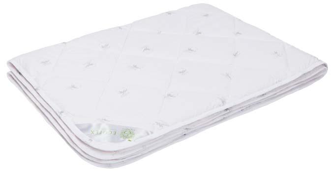 Одеяло Ecotex Коттон, наполнитель: хлопок, цвет: белый, 140 х 205 смОК1- комфортный микроклимат во время сна: отличная терморегуляция; - гигроскопичность и высокая воздухопроницаемость; - экологичность; - антистатичность; - долговечность.
