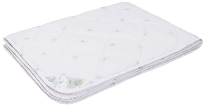 Одеяло Ecotex Коттон, наполнитель: хлопок, цвет: белый, 200 х 220 смОКЕ- комфортный микроклимат во время сна: отличная терморегуляция; - гигроскопичность и высокая воздухопроницаемость; - экологичность; - антистатичность; - долговечность.