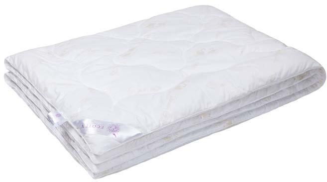Одеяло Ecotex Лебяжий пух, наполнитель: синтепух, цвет: белый, 200 х 220 смОЛСЕ- экологичность; - воздухопроницаемость; - долговечность; - легкость в уходе: легко стирается, быстро сохнет.