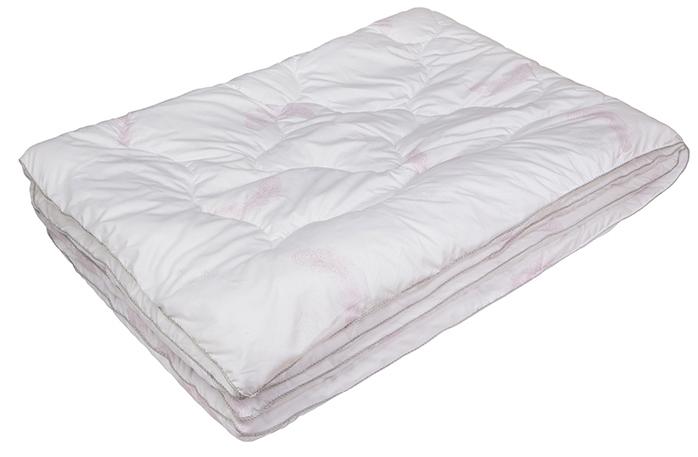 Одеяло Ecotex Лебяжий пух-Комфорт, наполнитель: синтепух, цвет: белый, 172 х 205 смОЛСК2- дарит тепло, позволяя телу дышать; - мягкость, эластичность, легкость; - легко стирается, быстро сохнет, сохраняя свои первоначальные свойства и форму; - эффект кожи персика.