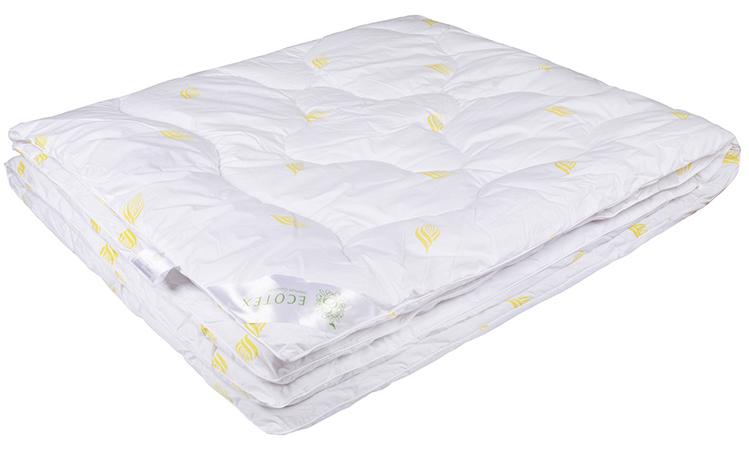 Одеяло Ecotex Маис, наполнитель: синтепух, цвет: белый, 172 х 205 смОМА2- экологичность; - износостойкость; - мягкость, упругость, воздушность; - терморегуляция и гигроскопичность; - легкость в уходе.