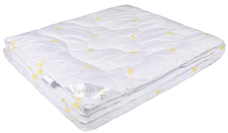 Одеяло Ecotex Маис, наполнитель: синтепух, цвет: белый, 200 х 220 смОМАЕ- экологичность; - износостойкость; - мягкость, упругость, воздушность; - терморегуляция и гигроскопичность; - легкость в уходе.