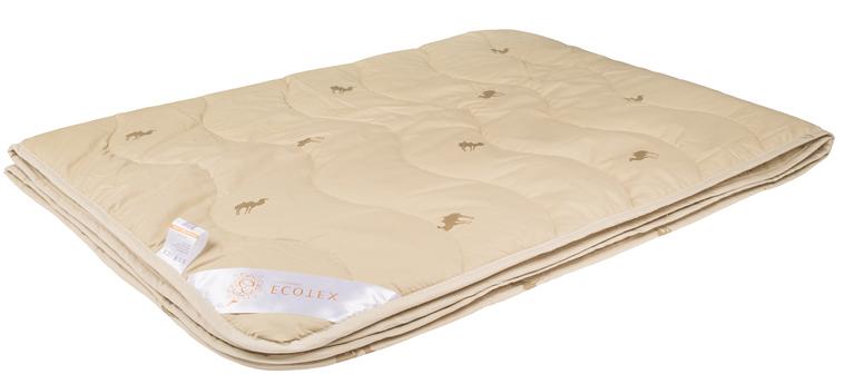 Одеяло Ecotex Караван, облегченное, наполнитель: верблюжья шерсть, цвет: светло-бежевый, 200 х 220 смООВТЕ- сухое тепло: комфортный температурный режим в любое время года; - целебные свойства; - высокое содержание ланолина, благоприятно воздействующего на кожу, мышцы и суставы; - антистресс: успокаивает, снимает усталость; - экологичность и антистатичность.