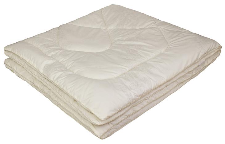 Одеяло Ecotex Овечка-Комфорт, наполнитель: овечья шерсть, цвет: слоновая кость, 140 х 205 смООК1- сухое и здоровое тепло: создает комфортный микроклимат во время сна в любое время года; - долговечность и экологичность; - комфорт: антистатичность, мягкость, легкость и объем.