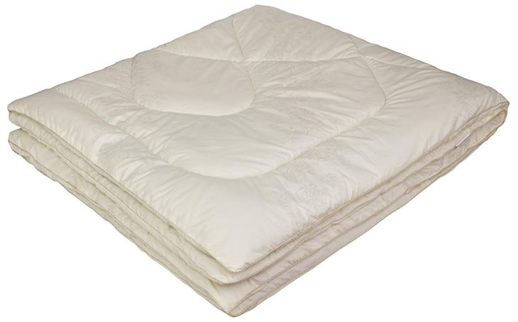 Одеяло Ecotex Овечка-Комфорт, наполнитель: овечья шерсть, цвет: слоновая кость, 172 х 205 смООК2- сухое и здоровое тепло: создает комфортный микроклимат во время сна в любое время года; - долговечность и экологичность; - комфорт: антистатичность, мягкость, легкость и объем.