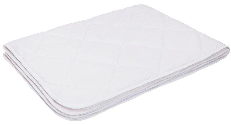 Одеяло Ecotex Файбер-Комфорт, облегченное, цвет: белый, 172 х 205 смООФК2- экологичность; - гигиеничность: не впитывает запахи и пыль; - теплоизоляция и воздухопроницаемость; - долговечность: в течение долгого времени сохраняет объем и упругость; - легкость в уходе: легко стирается, быстро сохнет.