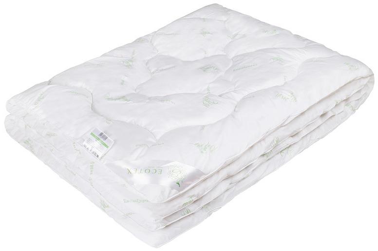 Одеяло Ecotex Эвкалипт, наполнитель: синтепух, цвет: белый, 140 х 205 смОЭК1- экологичность; - комфортный сон: обеспечивает прекрасный теплообмен, не поглощает посторонние запахи; - гигиеничность: высокая антибактериальная защита; - благотворное воздействие на кожу; - антистресс-эффект; - сочетание мягкости и объемности.